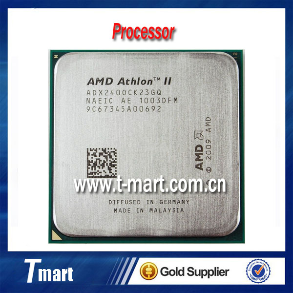 100% working desktop Processors for AMD II X2 240 2.8GHz 2MB L2 Cache Socket AM3 Fully tested.