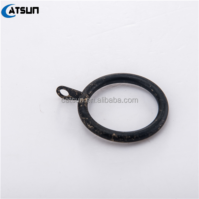 Wholesale Metal Curtain Drapery Rings With With Clips And Hooks For Curtain In Factory Price