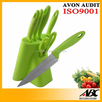 Wholesale Kitchen Stainless Steel Royalty Line Knife Set