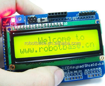 LCD1602 keypad shield module for Arduino