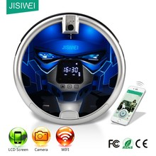 CE luxury gift to wife! WIFI+app remote control+ HD camera! JISIWEI S+ smart home robotic Vacuum Cleaner for pet floor cleaning
