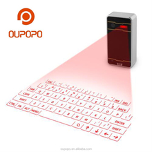 OP-K01 Mini Wireless Portable Bluetooth Laser Keyboard