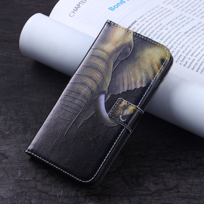 Functional Cover Good Quality Leather Phone Case Smart Cell Mobile Phone Case for Huawei