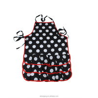 2015 new fashion printed sexy apron for cooking apron