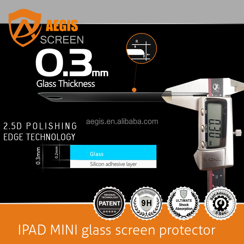 0.33mm 2.5D 9H 6.95 inch tempered glass screen protector for Intex Cloud Cube