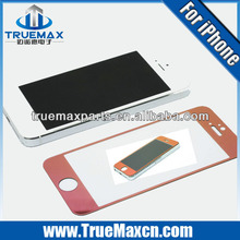 Cheap for iPhone 5 color screen protector ,Hot selling Glass screen protector for iPhone 5 colors