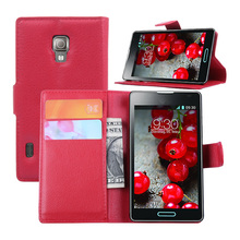 Wholesale shockproof soft pu leather phone case for LG P710