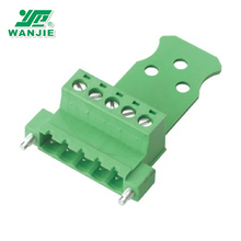 popular 3 pin pluggable terminal block connector for factory