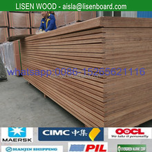 28mm container Hard wood core plywood with WBP Glue , marine waterproof container plywood plates , shipping contianer floor