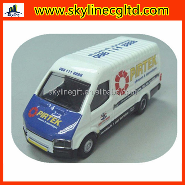 customized 1:43 diecast model van with free wheel,diecast transit model,diecast toy van model