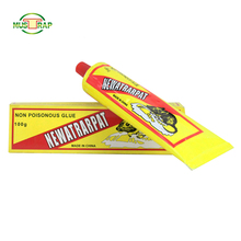 Mustrap high quality trap rat mouse glue tube with yellow glue