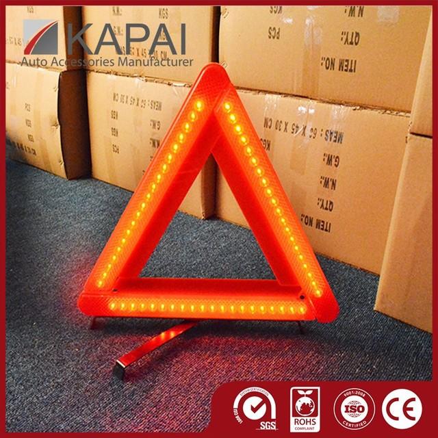 Top Kind Triangle Warning Board Automotive LED
