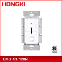 Slide dimmer switch, single pole LED/CFL dimmer ,120V