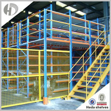 High spcing saving first-in-last-out heavy duty drive in racking