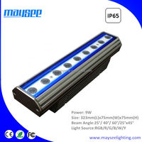 RGBW 4-in-1 24W outdoor LED linear wall washer light with DMX512