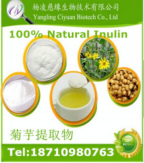 Pure Factory Supply 100% Natural organic Inulin Extract Powder