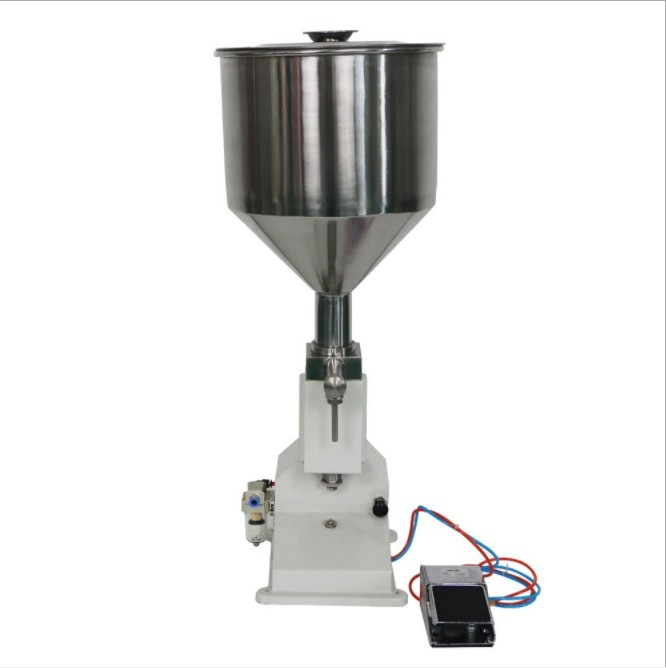 JYD <strong>A02</strong> Automatic High Accuracy3-50ml Pneumatic Tomato Cream Paste Lotion Filling Filler Machine/Cupcake Cream Filling Machine