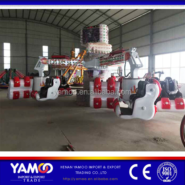 Chinese ride 24 seats factory energy claw amusement park energy storm fun fair equipment for sale