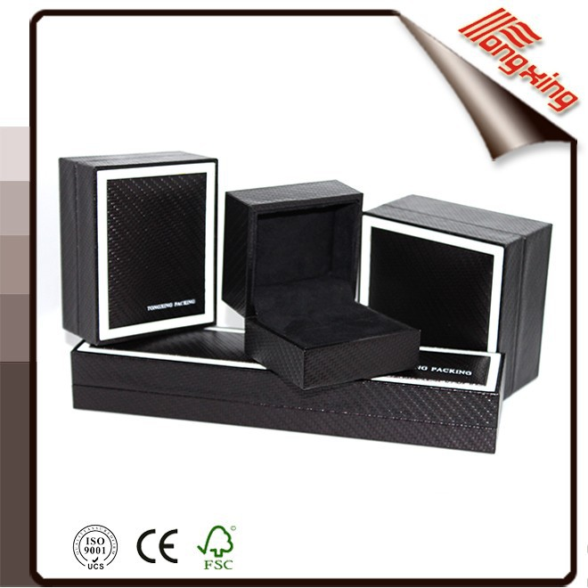 2015Black White Plastic box for Jewelry/Gift