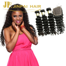 JP Hair Wholesale Deep Wave Style Peruvian Virgin Unprocessed Human Hair