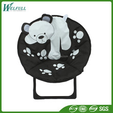 China Alibaba Popular Soft Oxford Fabric Moon Chairs for Kids