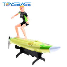 Brinquedos - New 2.4G Remote Control Toy Surfer Boat High Speed Sailing Boat Model RC Surfer