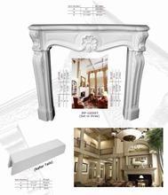 Polyurethane Ornaments High Density Beautiful PU Decorative indoor fireplaces in pakistan in lahore