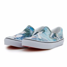 wholesale china brand summer design slip on woman canvas shoes