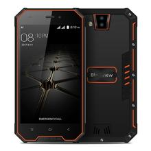 Blackview BV4000 4.7 Inch 1GB 8GB 8.0MP Cam MT6580A Quad Core 1.3GHz Android 7.0 IP68 waterproof Smartphone