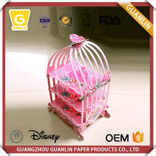 China Manufacturer Customized Different Style Birthday 3 Tier Cupcake Holder Cake Carrier Container
