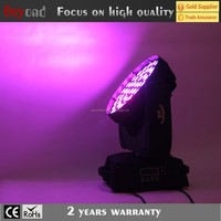 Hotsale 56x4in1 10w wash moving head light used in evening events,concert,party,disco or porm