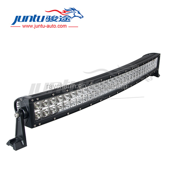 12V 24V Double stack curved 120 W truck roof light bar, auto parts for SUV JT-1400