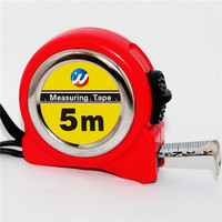 10ft/16ft red ABS round steel measuring tape/high standard plastic case construct measure tools