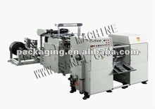 Two Lines Garbage Bag Rolls-Connecting&Dots-Servering Bag Making Machine With Automatic Corless Winder