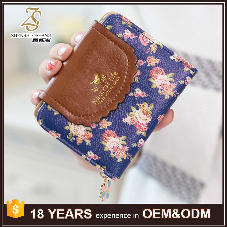 Elegant Leather Wallet Small Latest Party Lady Clutch Purses
