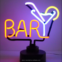 customer design bar neon sign the neon light used in bar neon sculpture