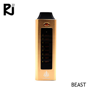 Chinese supplier Beast touch screen 2200mah vaporizer OEM/ODM dry herb