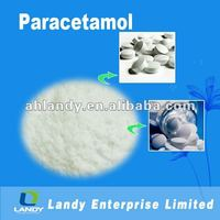 Paracetamol powder pure white BP USP EP