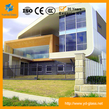 Insulated low-e glass Wholesale price low-e tempered glass price
