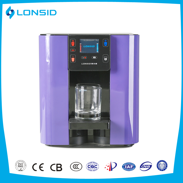 Best selling Bench Top water coolers with carbon filter and UV sterilization