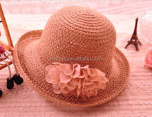 Cheap price custom quality hat woman sex young straw hat