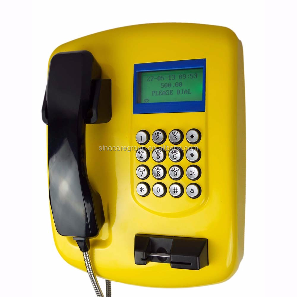 T511 Outdoor IC Card/RFID Public Payphone