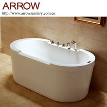 ce approved acrylic free standing bathtub price