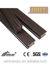 High Quality Crack-resistant Durable Wood plastic composite Joist WPC Decking Keel Composite Decking Joist