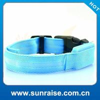 Wholesale Adjustable Sizes s/m/l size pet products led dog collar