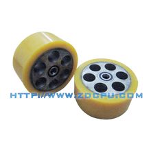 High precision hollow plastic machine wheels for equipment