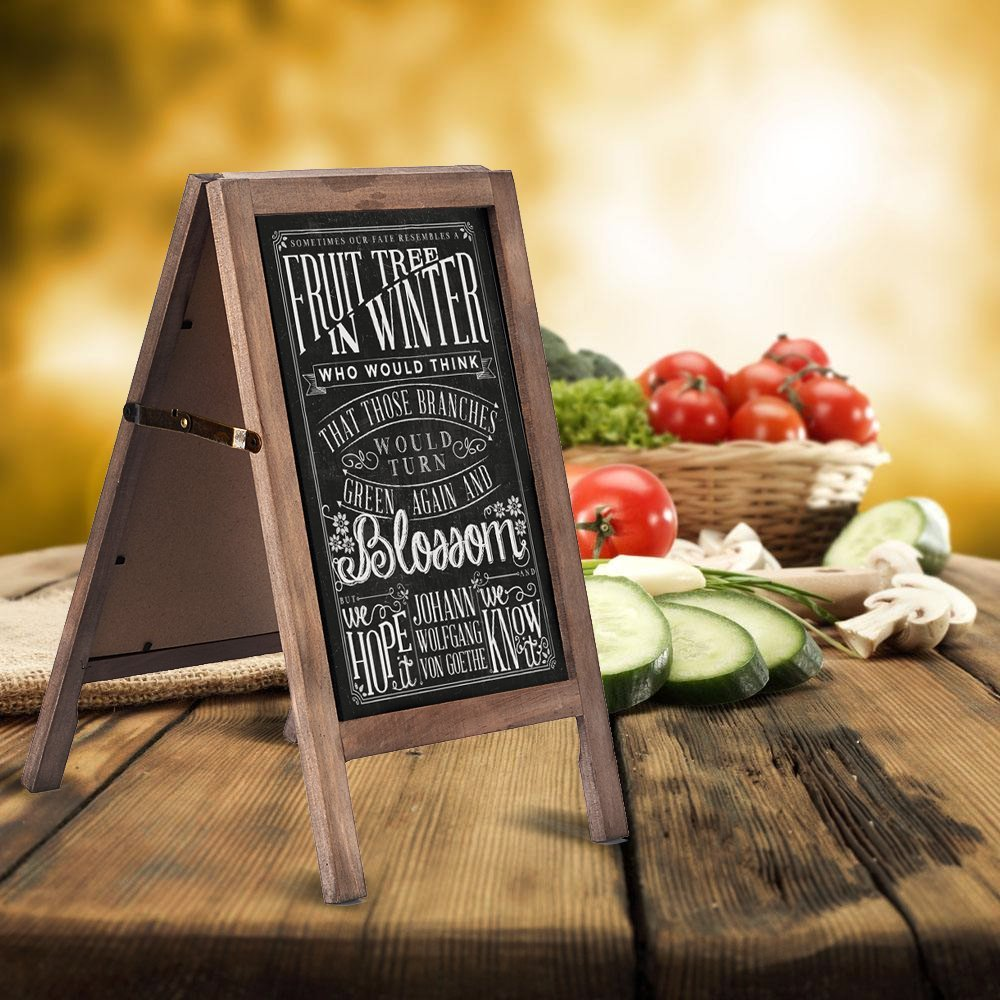Bar and Pub Woooden Chalkboard Sign with Liquid pen