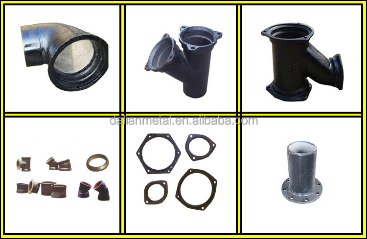 black malleable iron elbow plumbing pipe fittings with good price