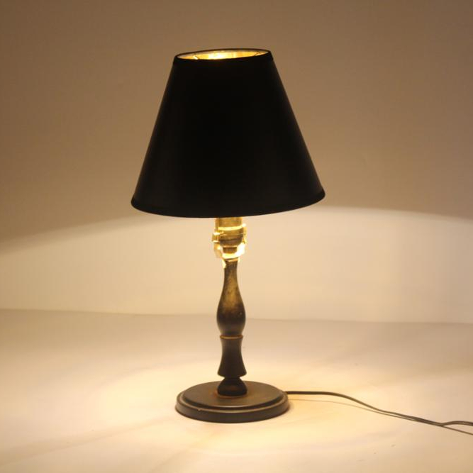 <strong>black</strong> paper lamp shade for table lamp