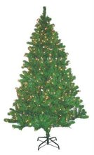 2012 green christmas tree with pine decorations snowing tips